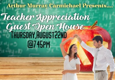 Teacher Appreciation Open House