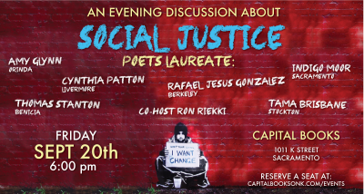 Social Justice Discussion with Six Poets Laureates