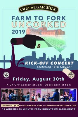 Farm to Fork Uncorked 2019: Kick-Off Concert