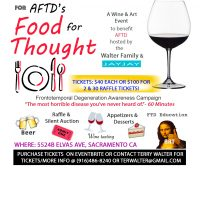 Food for Thought Wine and Art Event