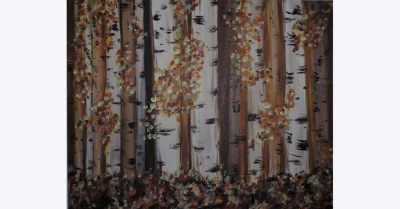 Paint and Sip: Fall Birch Trees