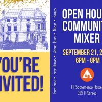 Sacramento Hostel Open House