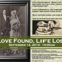 Love Found, Life Lost Cemetery History Tour