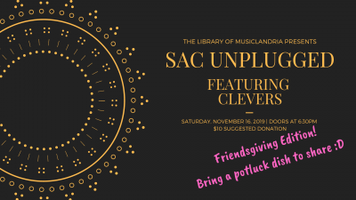 Sac Unplugged: Clevers