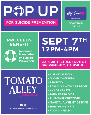 Pop-Up for Suicide Prevention