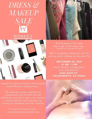 Dress and Makeup Sale by Women's Empowerment