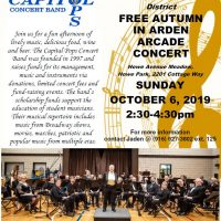 Autumn in Arden-Arcade Concert with Capitol Pops