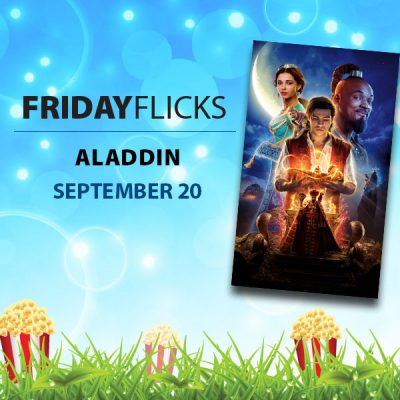 Friday Flicks: Aladdin