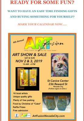 ArtFusion Annual Holiday Sale