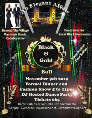 Black and Gold Ball: An Elegant Affair
