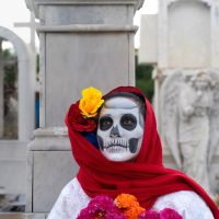 Layers Of Life In Death: Yucatan, Mexico by Roberta Alvarado