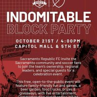 Indomitable Block Party