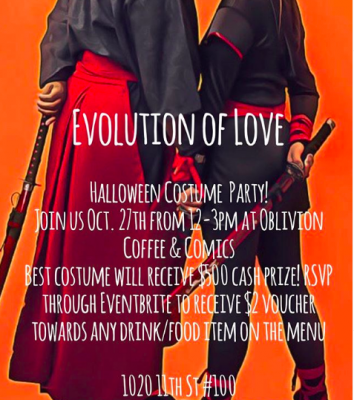 Evolution of Love Halloween Costume Party