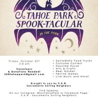Tahoe Park Spook-Tacular in the Park