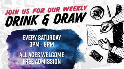 Oblivion Drink and Draw