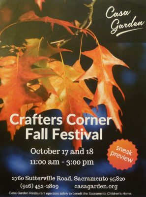 Fall Festival and Crafters Corner