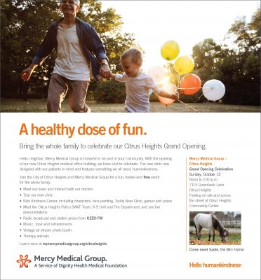 Mercy Medical Citrus Heights Grand Opening