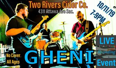 Gheni Live at Two Rivers Cider