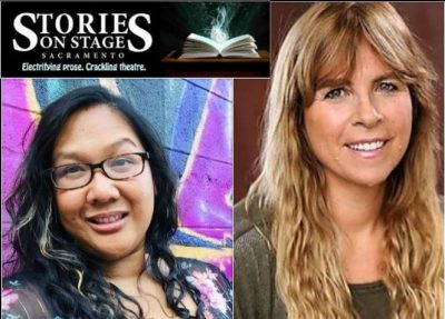 Stories on Stage Sacramento with Christine O'Brien and Jen Palmares Meadows