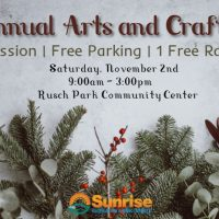 Sunrise Art and Crafts Fair