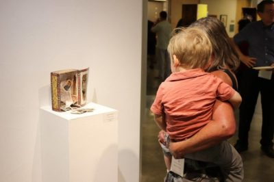 Baby and Me in the Gallery