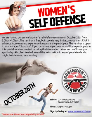 Danger In The Dark: Women's Safety and Self-Defense