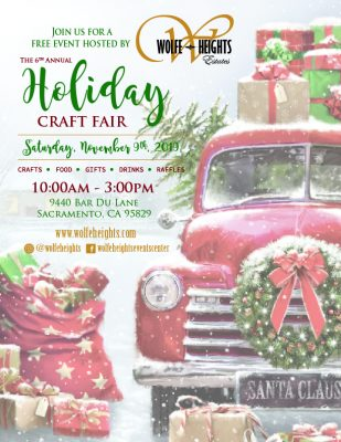 Wolfe Heights Craft Fair