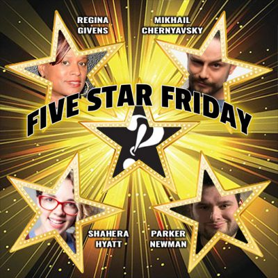 Five Star Friday: Stand-up Comedy Showcase