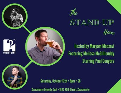 The Stand-up Comedy Hour with Headliner Paul Conyers