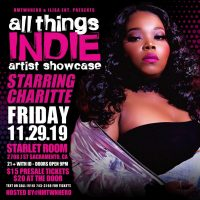 All Things Indie Artist Showcase
