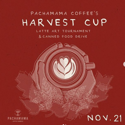 Pachamama Coffee's Harvest Cup