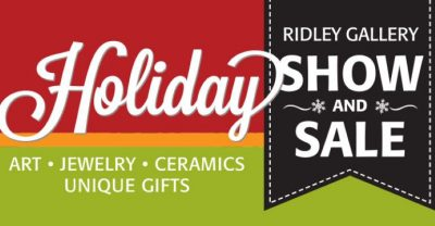 Ridley Gallery Holiday Show and Sale