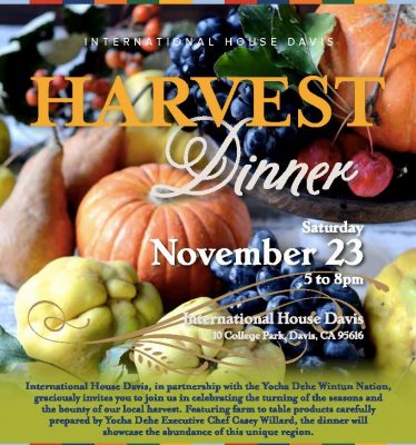 Harvest Dinner at International House Davis