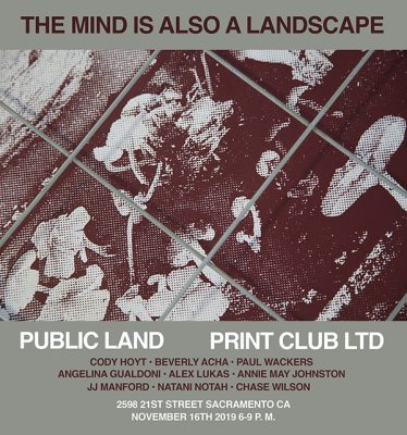 The Mind Is Also A Landscape