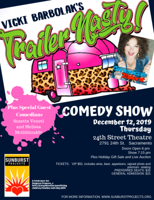 "Vicki Barbolak's ""Trailer Nasty"" Comedy Show"