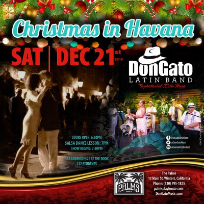 Christmas in Havana with DonGato Latin Band