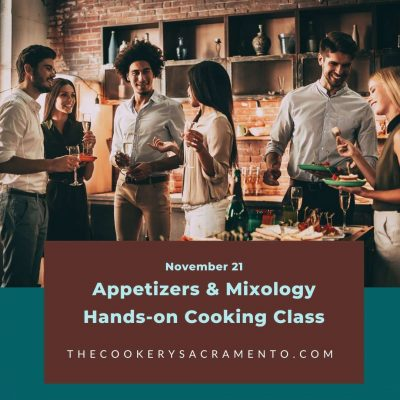 Appetizers and Mixology Hands-on Class