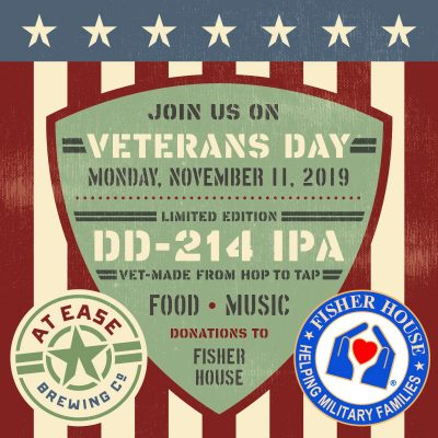 Veterans Day at At Ease Brewing Co.