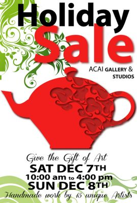 ACAI Gallery and Studios' Holiday Sale