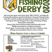 Trout Fishing Derby