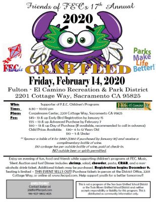 Friends of FEC Crab Feed 2020