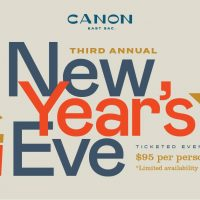 New Year's Eve Dinner at Canon