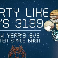 New Year's Eve Outer Space Bash