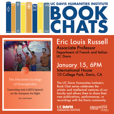 UC Davis Humanities Institute Book Chat at I-House Davis