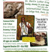 4th Annual Community Drum Circle and Tribute to Dr. Martin Luther King