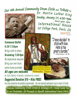 4th Annual Community Drum Circle and Tribute to Dr...