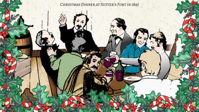 An Early California Christmas Dinner and Show