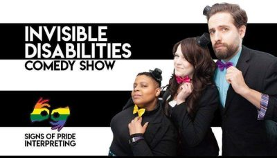 Invisible Disabilities Comedy Show (with ASL Interpreting)