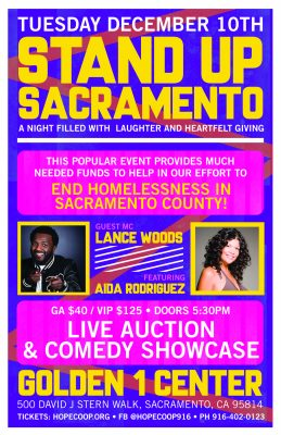 Stand-Up Sacramento Comedy Showcase featuring Aida Rodriguez (SOLD OUT)
