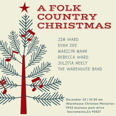 A Folk Country Christmas at the Warehouse